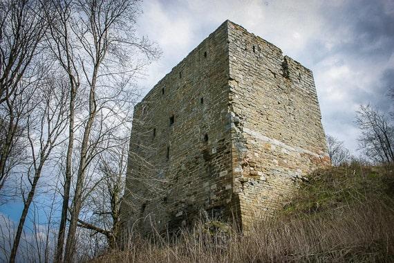Die Ruine Straufhain