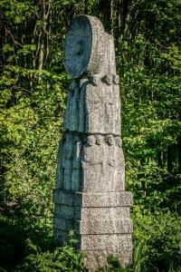 Steinbildnis auf dem Heidelstein