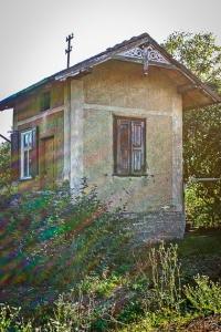 Altes Bahnhäuschen Ostheim