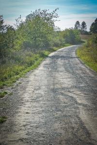Der Weg aus Ostheim hinaus