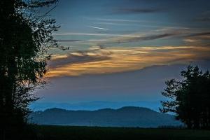 Abends auf der Hohenmirsberger Platte