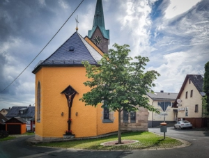 Kirchplatz Enchenreuth