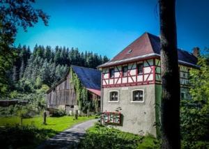 Wandern Mühlenweg Frankenwald