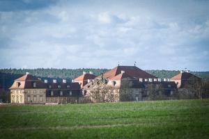 Rückblick nach Pommersfelden