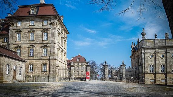 Wandern Schloss Weißenstein Pommersfelden