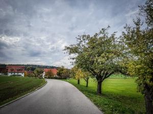An Kapelle vorbei nach Allmannsdorf