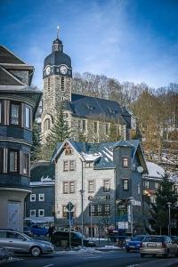 Die Kirche von Lauscha