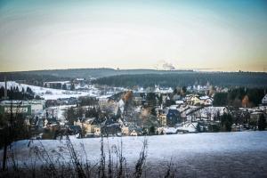 Blick über Ernstthal bis Neuhaus am Rennweg