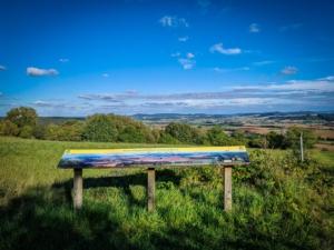 Aussichtspunkt Panoramaweg Buch
