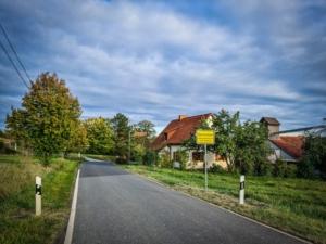 Am Ortseingang Obermerzbach