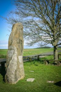Der berühmte Dreifranken-Stein