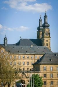Zurück bei Kloster Banz