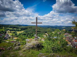 Gipfelkreuz auf dem Hirtenstein