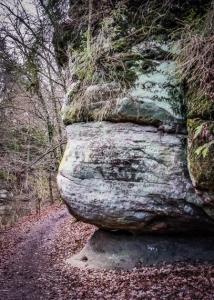 Der Weg in die Schwarzach-Klamm
