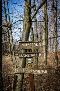 Wegweiser zum Knetzberg
