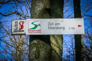Wegweiser Steigerwald-Panoramaweg