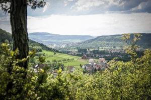 Blick in Richtung Hammelburg