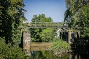 Historische Schleuse Wallenfels
