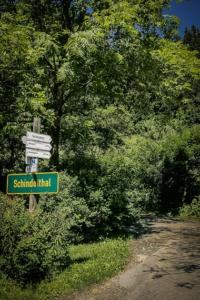 Schild Schindeltal