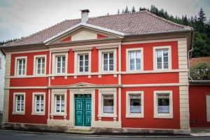 Schöne alte Häuser Wallenfels