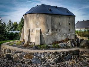 Modell der ehemaligen Burg Blankenstein