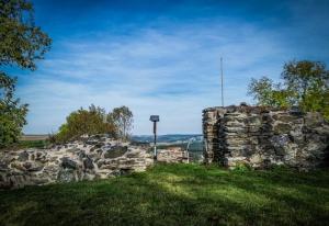 Burgruine Blankenberg über der Saale