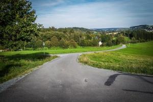 Rückweg nach Sparnberg