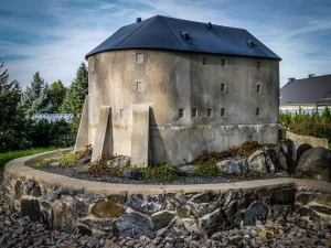 Modell Burg Blankenburg über der Saale
