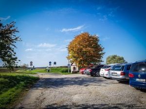 Parkplatz außerhalb von Großenbuch