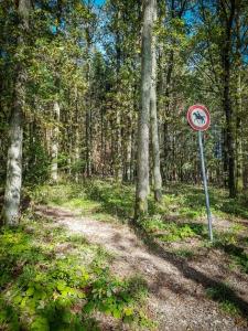 Reiter-Verbots-Schild