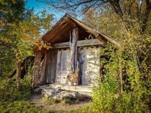 Hölzerne Waldkapelle