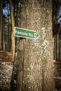 Wegweiser Fränkischer Weg