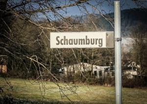 Schild Schaumburg