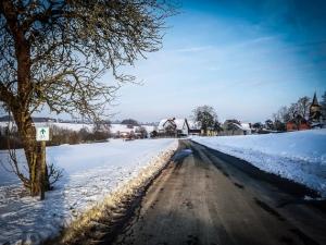 Vor dem Ort Herzogenreuth