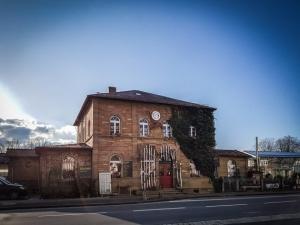 Der Bahnhof in Schonungen