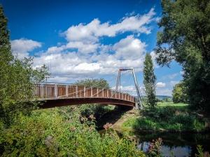 Brücke über den Mainzusammenfluss