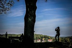 Ausblick vom Gottvaterberg über Plech